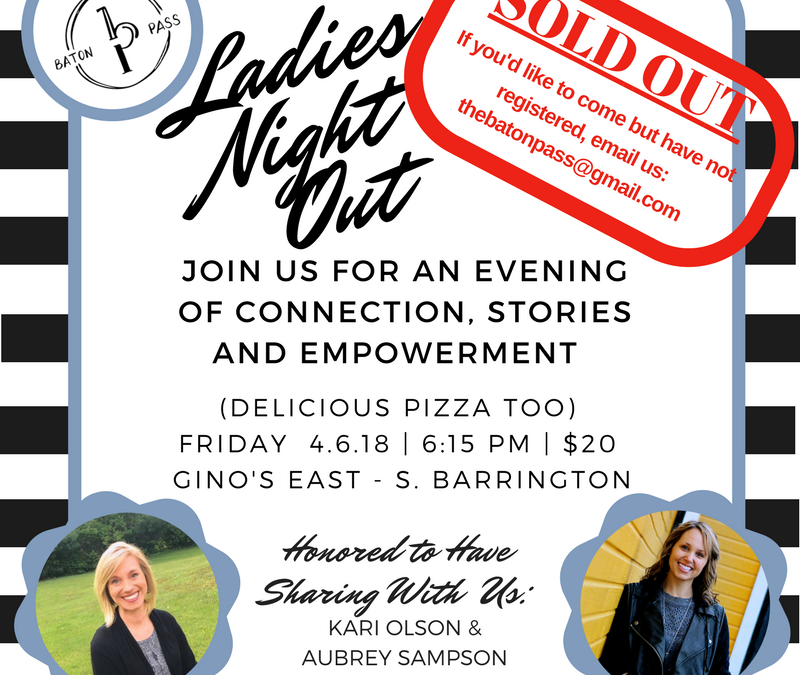 Ladies Night Out 4.6.18