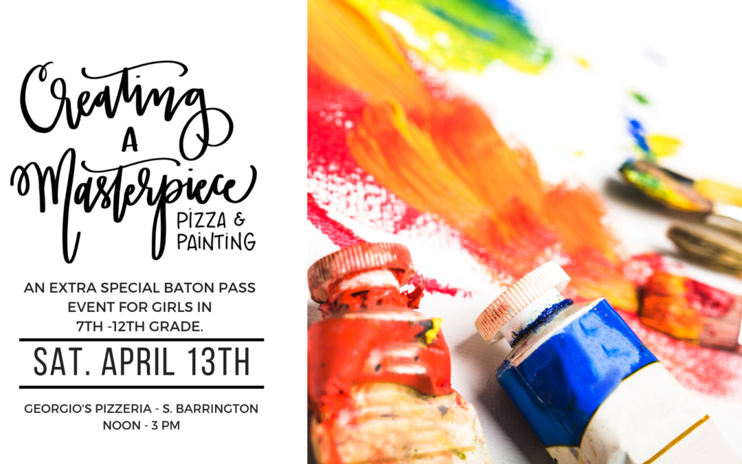 Creating A Masterpiece {Pizza & Painting}